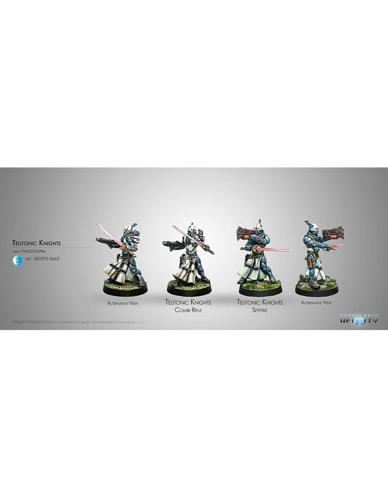 Corvus Belli Panoceania Teutonic Knights (Spitfire/Combi Rifle) Blister Pack