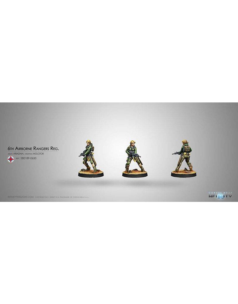Corvus Belli Ariadna 6th Airborne Ranger Reg. (Molotok) Blister Pack