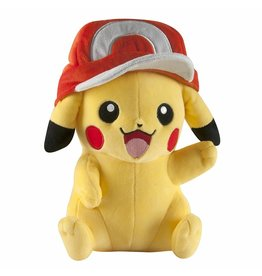 Pokemon Large Plush - Pikachu w/ Ash's Hat