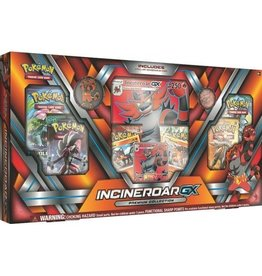 Pokemon Incineroar GX Premium Collection: Pokemon TCG