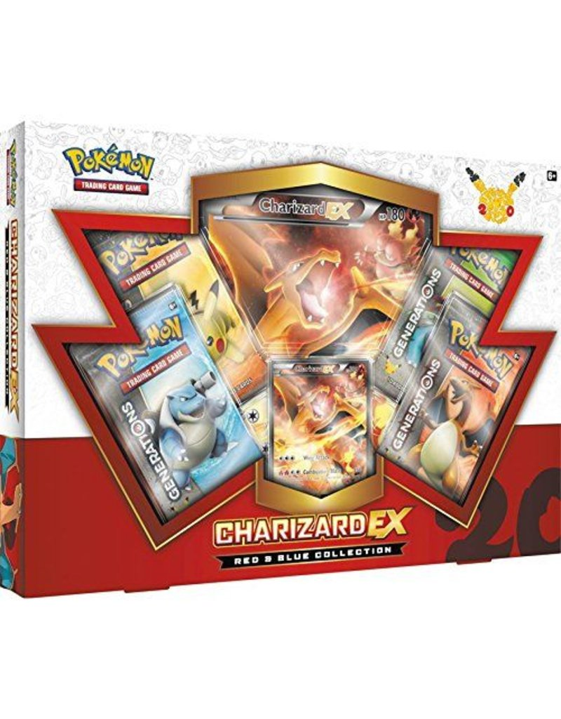 Pokemon Red & Blue Collection (Charizard): Pokemon TCG