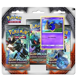 Pokemon Sun & Moon Burning Shadows Triple Pack Booster (Cosmog)