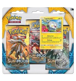 Pokemon Sun & Moon Triple Pack Booster (Togedemaru): Pokemon TCG