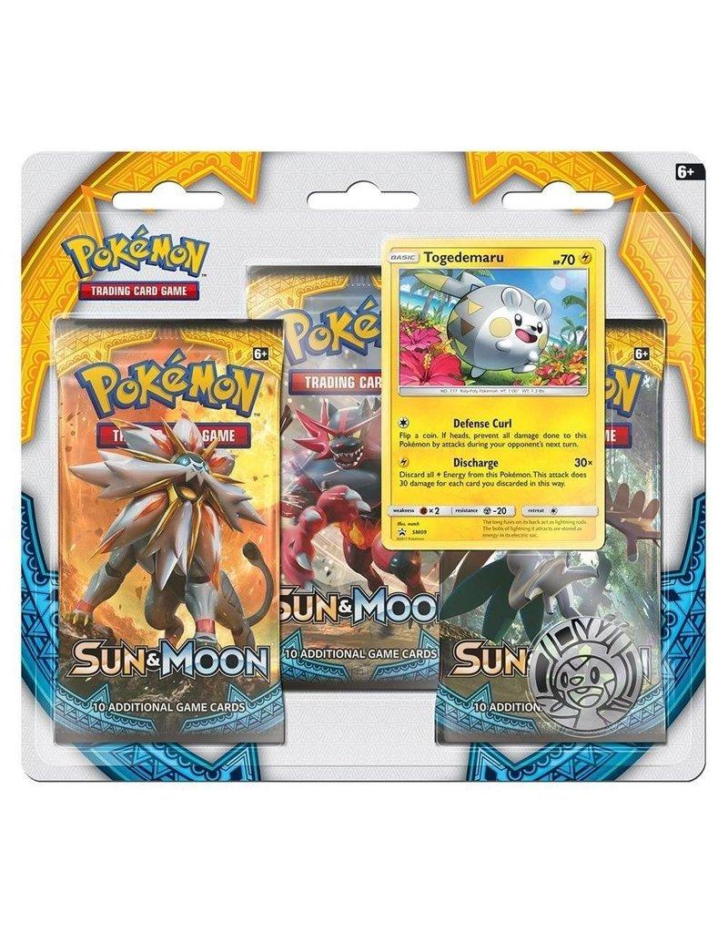 Pokemon Sun & Moon Triple Pack Booster (Togedemaru): Pokemon TCG