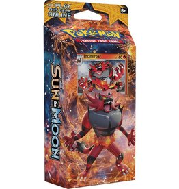Pokemon Sun & Moon Theme Deck (Roaring Heat): Pokemon TCG