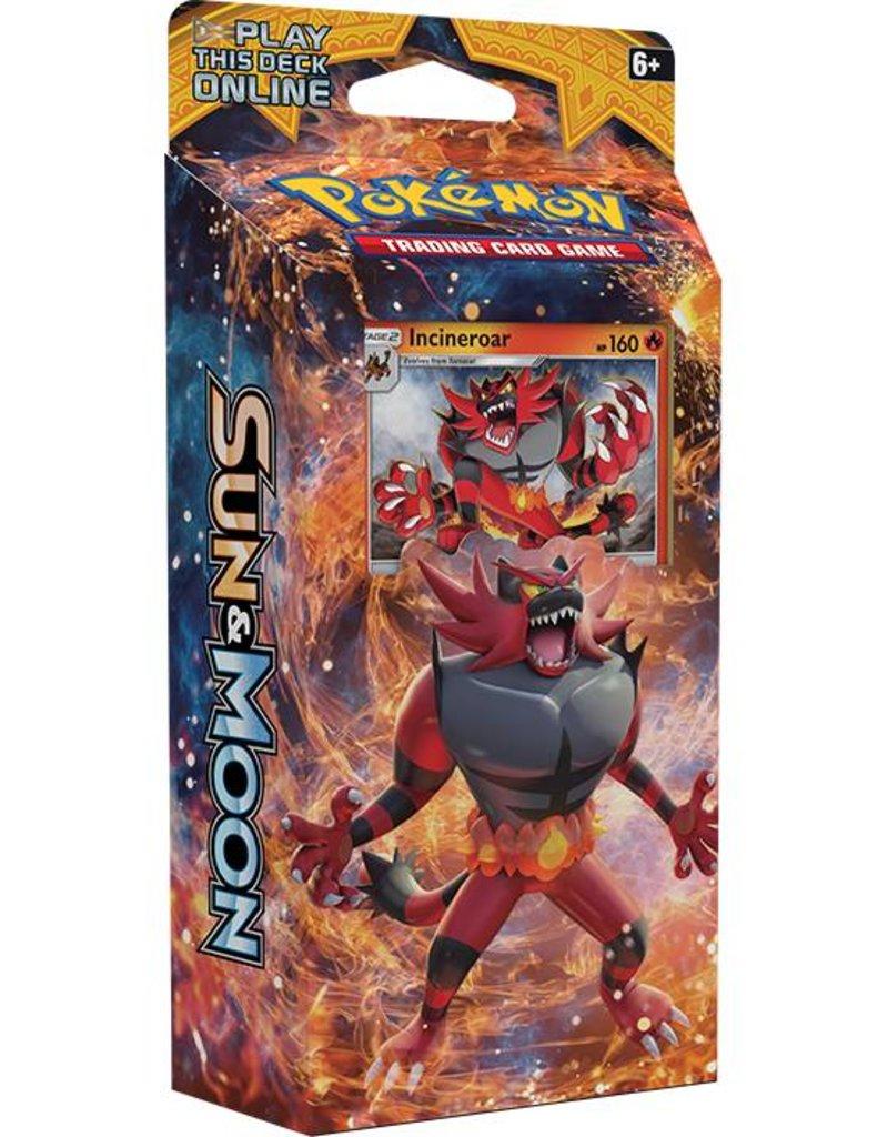 Pokemon Sun & Moon Theme Deck (Roaring Heat): Pokemon TCG