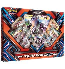 Pokemon Shiny Tapu Koko-GX Box: Pokemon TCG