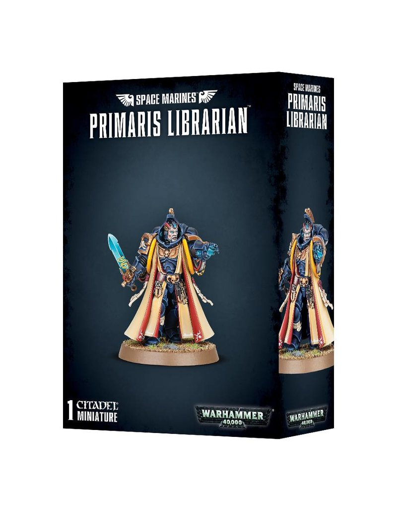 Games Workshop Space Marines Primaris Librarian