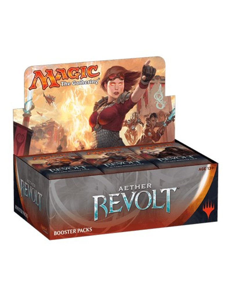 Wizards of the Coast Magic The Gathering: Aether Revolt Display Box