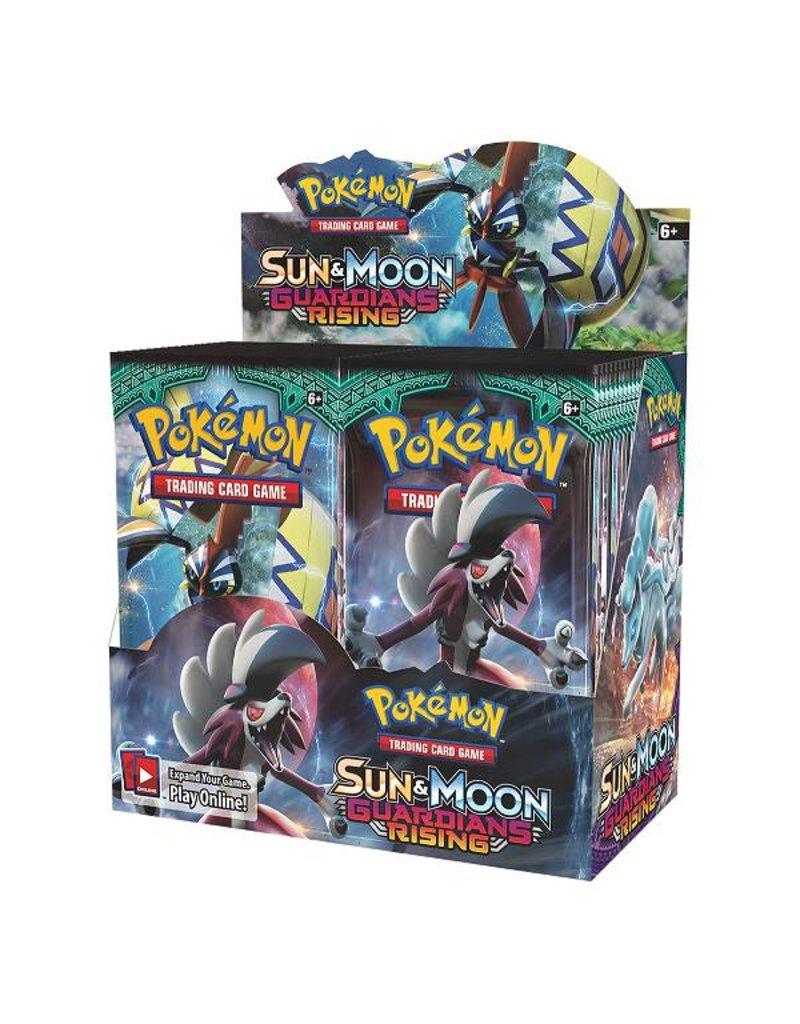 Pokemon Sun & Moon Guardians Rising Booster Box: Pokemon TCG