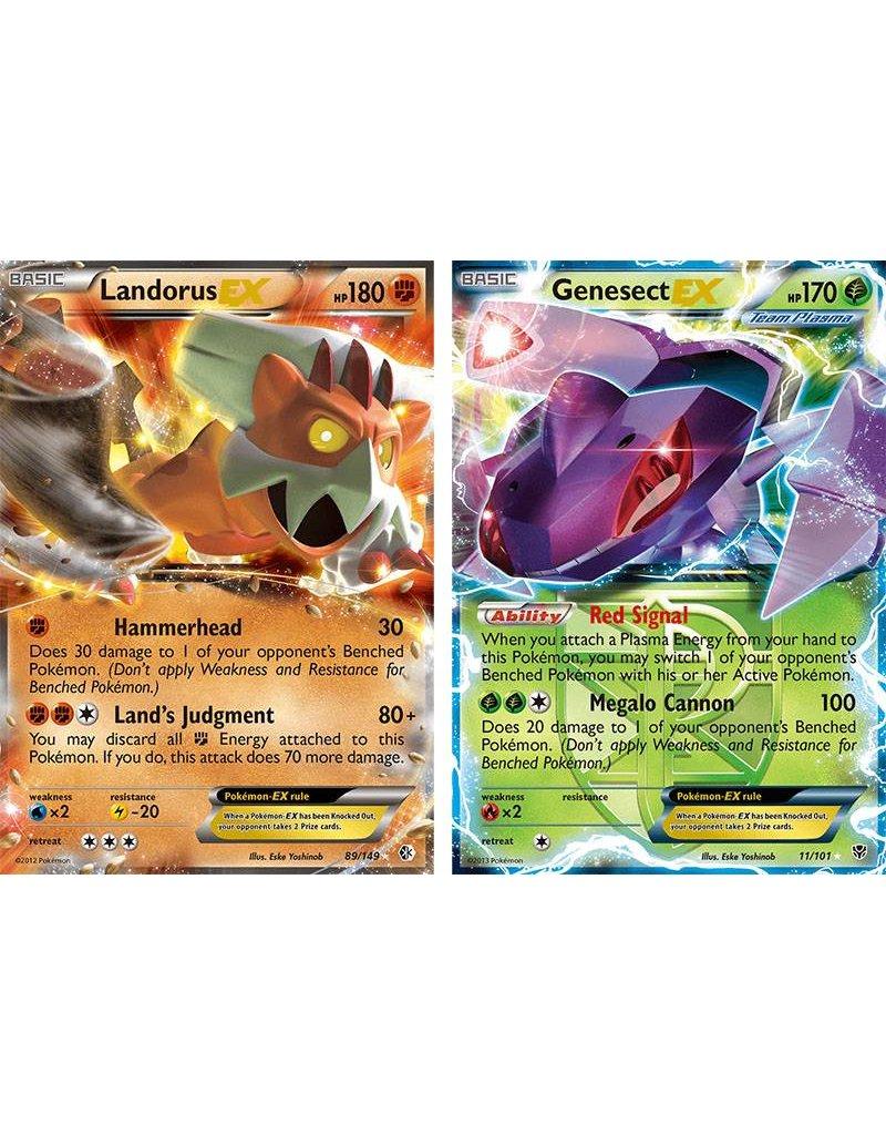 Pokemon Landorus vs. Genesect Battle Arena Decks: Pokemon TCG