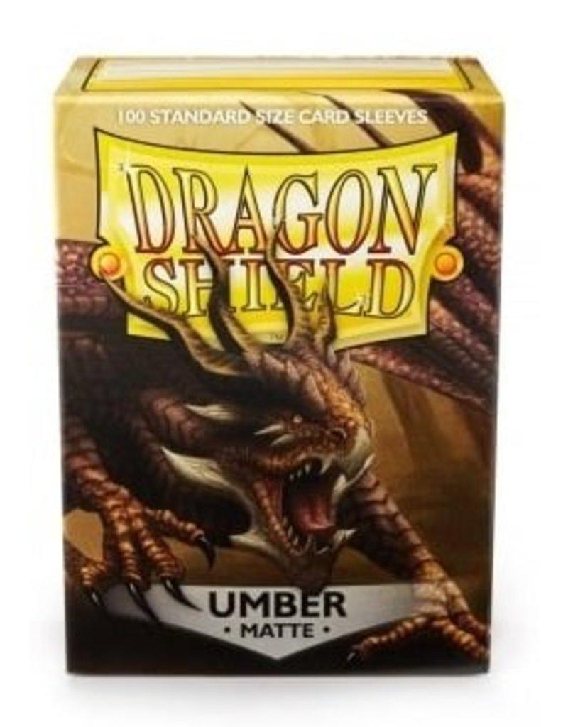 ARCANE TINMEN Dragon Shield Sleeves Matte Umber (100)