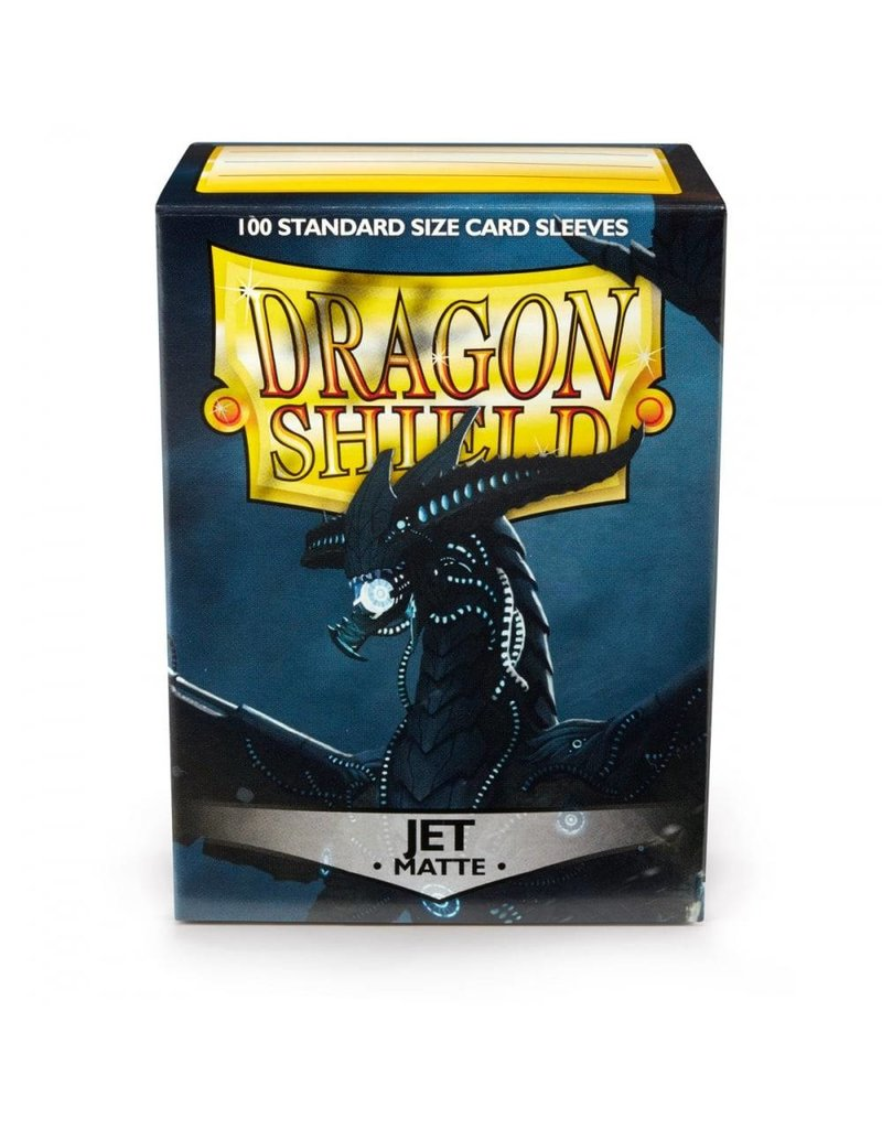 ARCANE TINMEN Dragon Shield Sleeves Matte Jet (100)