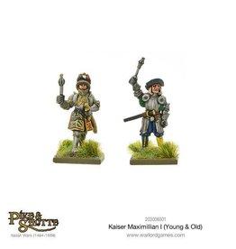 Warlord Games Kaiser Maximilian I (Young & Old)