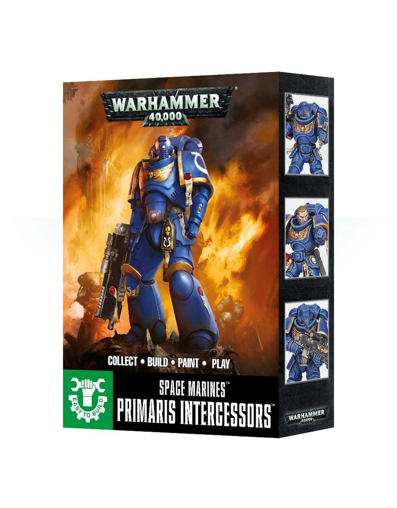 Games Workshop Easy To Build: Primaris Intercessors