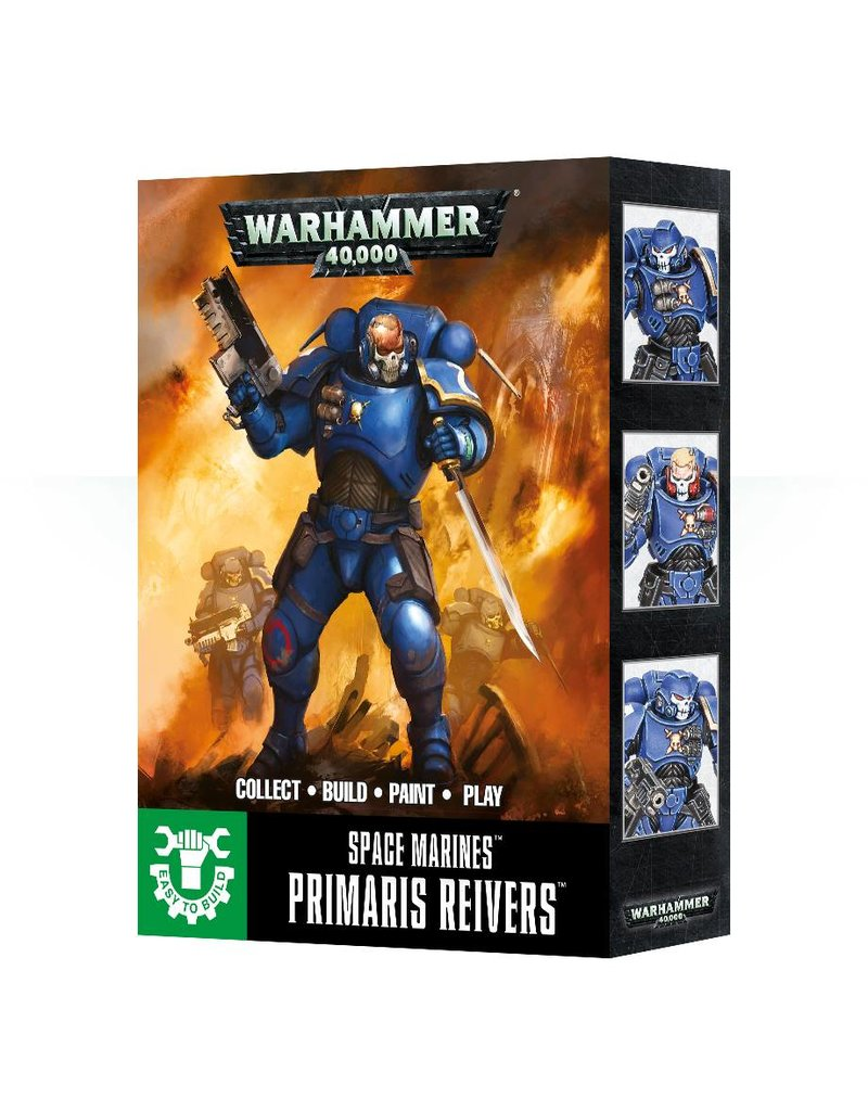 Games Workshop Easy To Build: Primaris Reivers