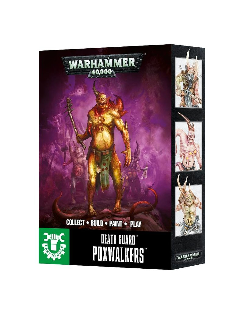 Games Workshop ETB DEATH GUARD POXWALKERS