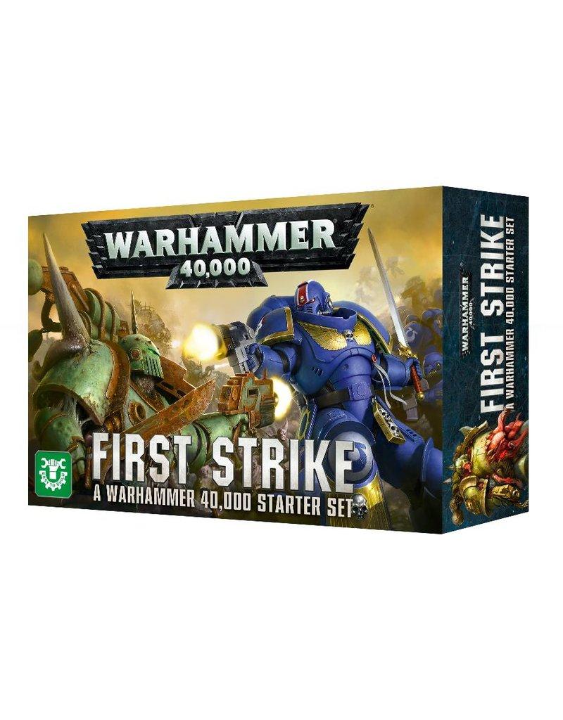 Games Workshop WARHAMMER 40000: FIRST STRIKE (ENGLISH)