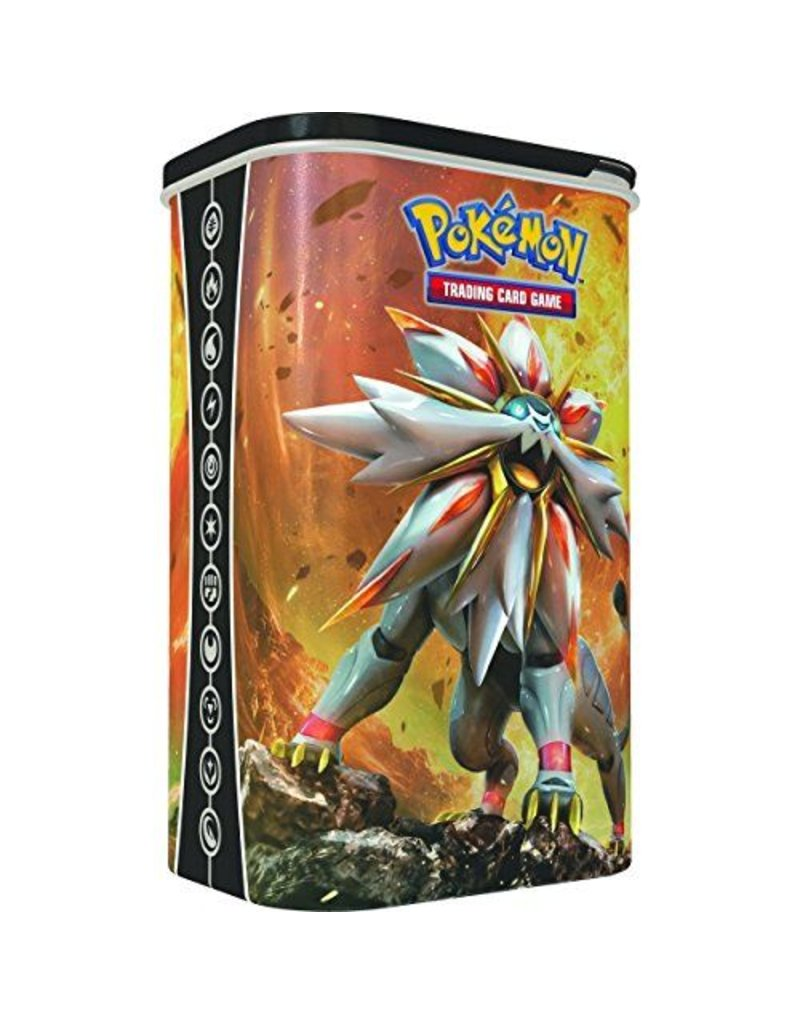 Pokemon Deck Shield Tin: Pokemon TCG -  Solgaleo