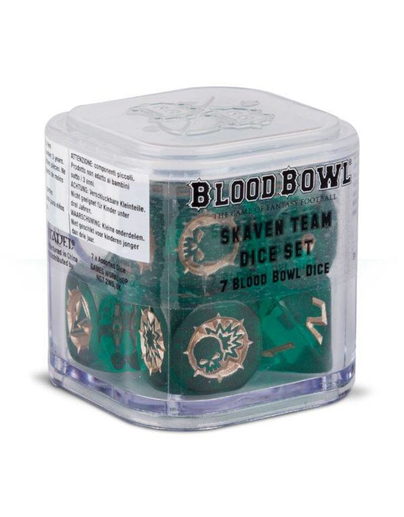 Games Workshop Bloodbowl: Skaven Scramblers Dice