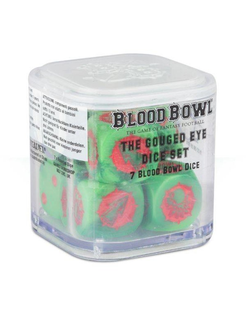 Games Workshop Bloodbowl: Gouged Eye Orc Dice