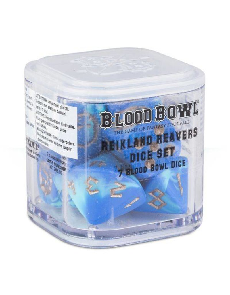 Games Workshop Bloodbowl: Reikland Reivers Human Dice