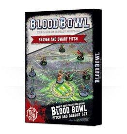 Games Workshop BLOODBOWL: SKAVEN/DWARF PITCH