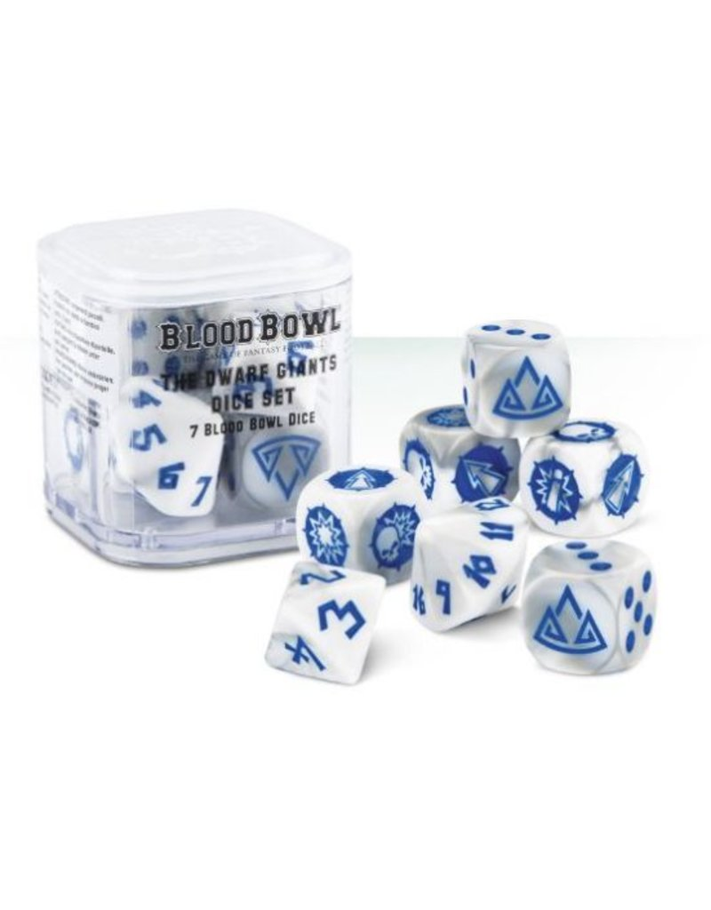 Games Workshop BLOODBOWL: DWARF DICE
