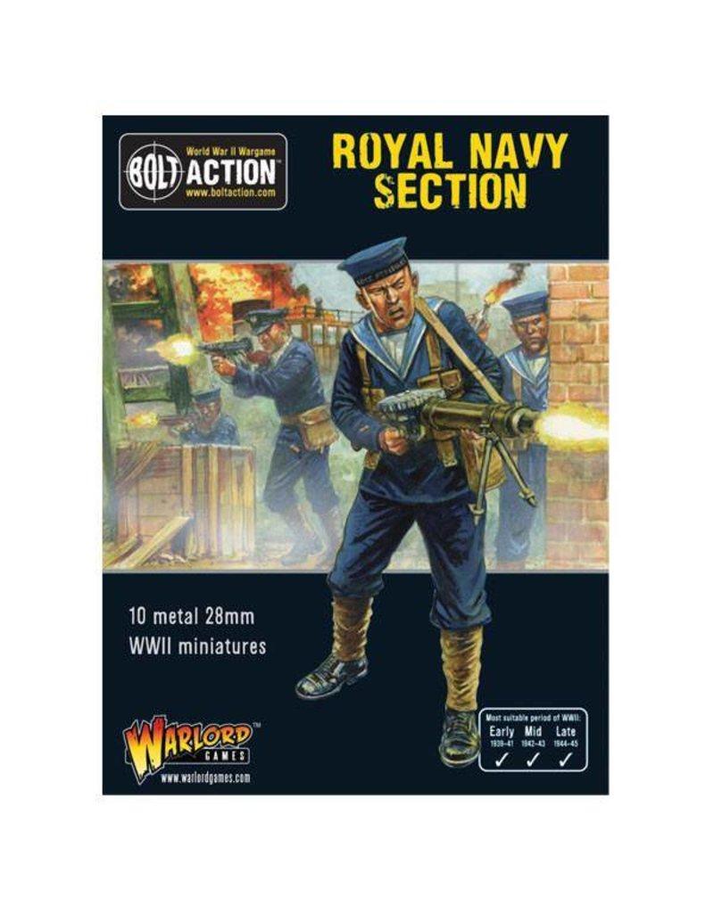 Warlord Games British Royal Navy Section