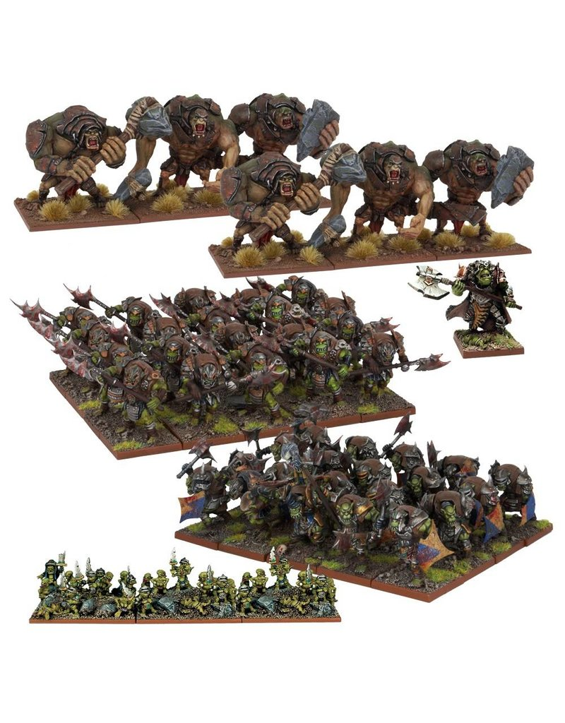 Mantic Games Orcs: Army Starter Set (Re-pack)