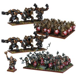 Mantic Games Abyssal Dwarf Army (Re-pack)