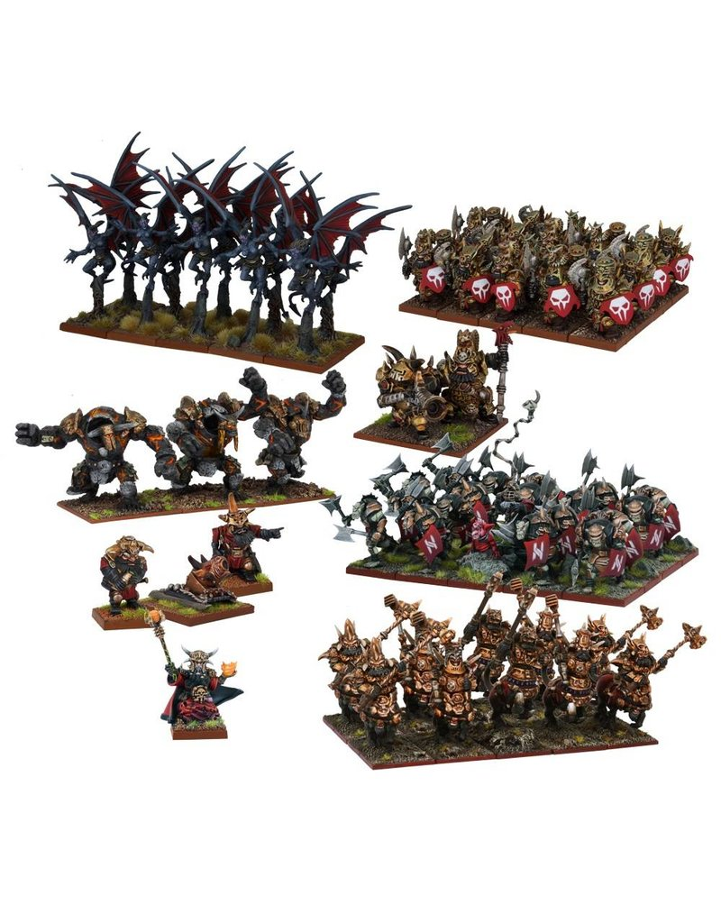 Mantic Games Abyssal Dwarf Mega Army (Re-pack)