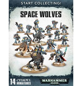 Games Workshop Start Collecting! Space Wolves