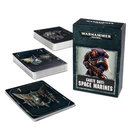 Games Workshop DATACARDS: SPACE MARINES (ENG)
