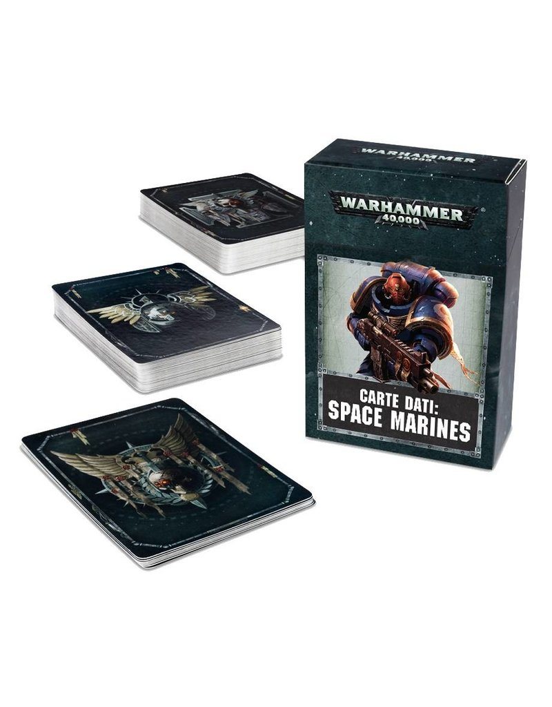 Games Workshop Datacards: Space Marines (EN)