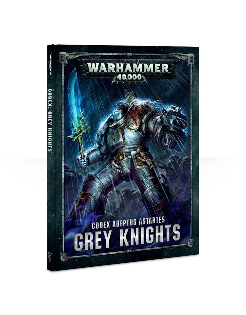 Games Workshop CODEX: GREY KNIGHTS (ENGLISH)