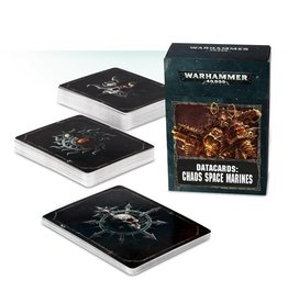 Games Workshop DATACARDS: CHAOS SPACE MARINES (ENG)
