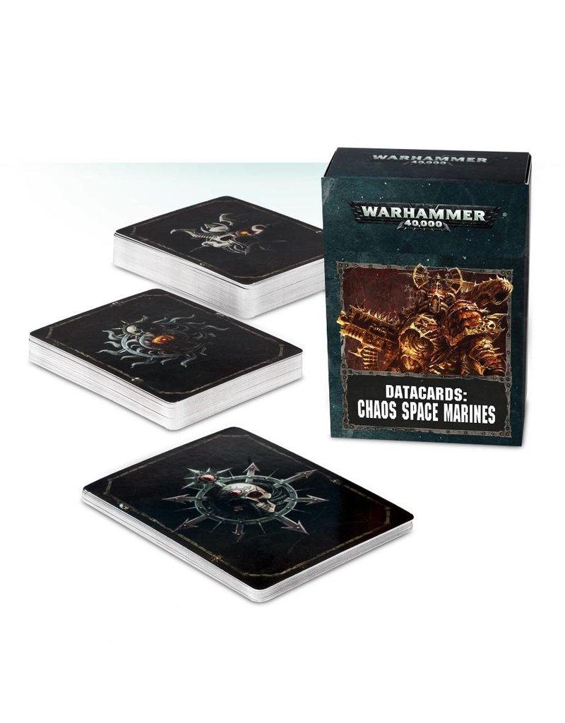 Games Workshop Datacards: Chaos Space Marines (EN)