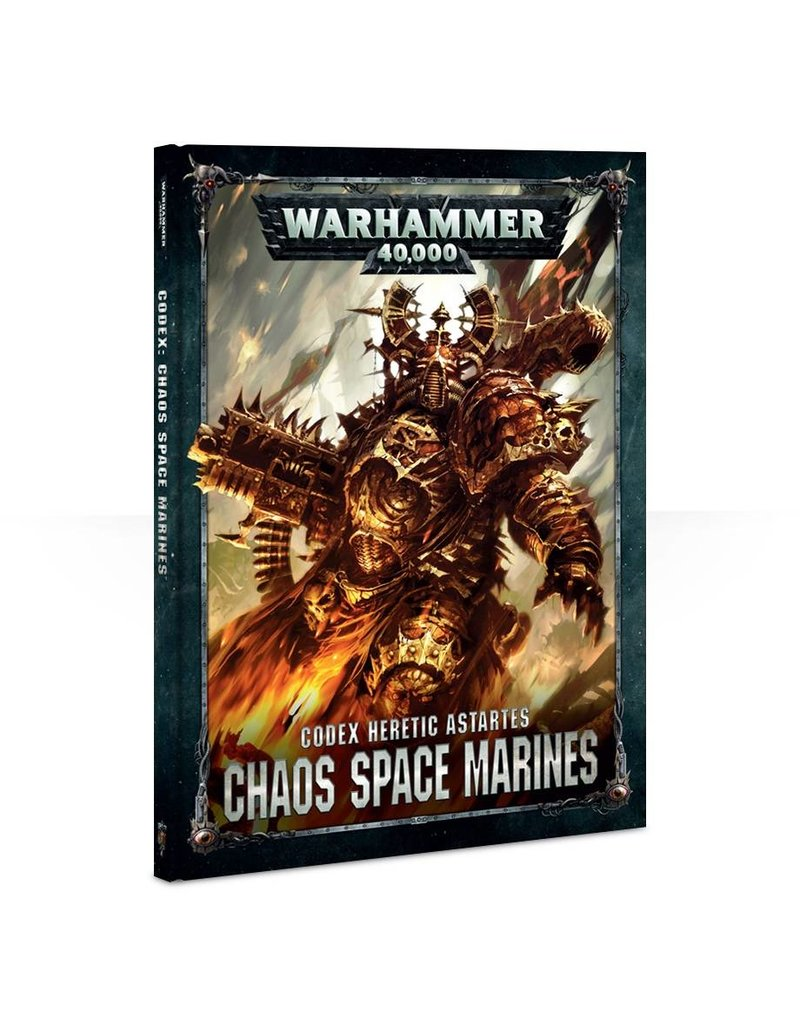 Games Workshop CODEX: CHAOS SPACE MARINES (HB) (ENG) (8th)