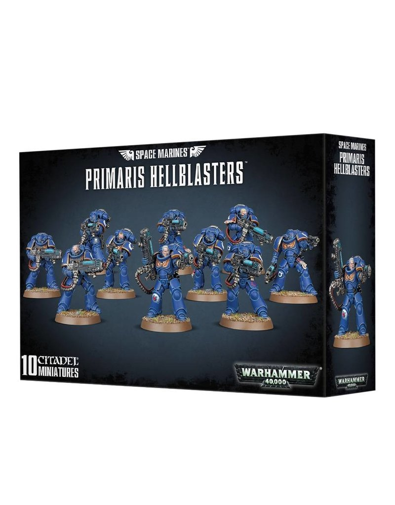 Games Workshop Space Marines Primaris Hellblaster Squad