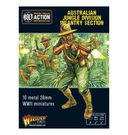 Warlord Games Australian Jungle Division Infantry Section