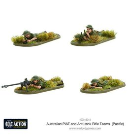 Warlord Games Australian PIAT and Anti-tank Rifle Teams