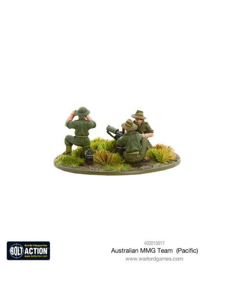 Warlord Games Allied Australian MMG Team