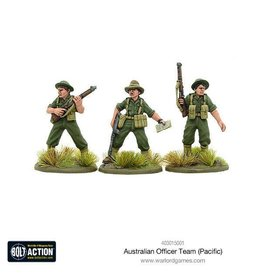 Warlord Games Australian Officer Team