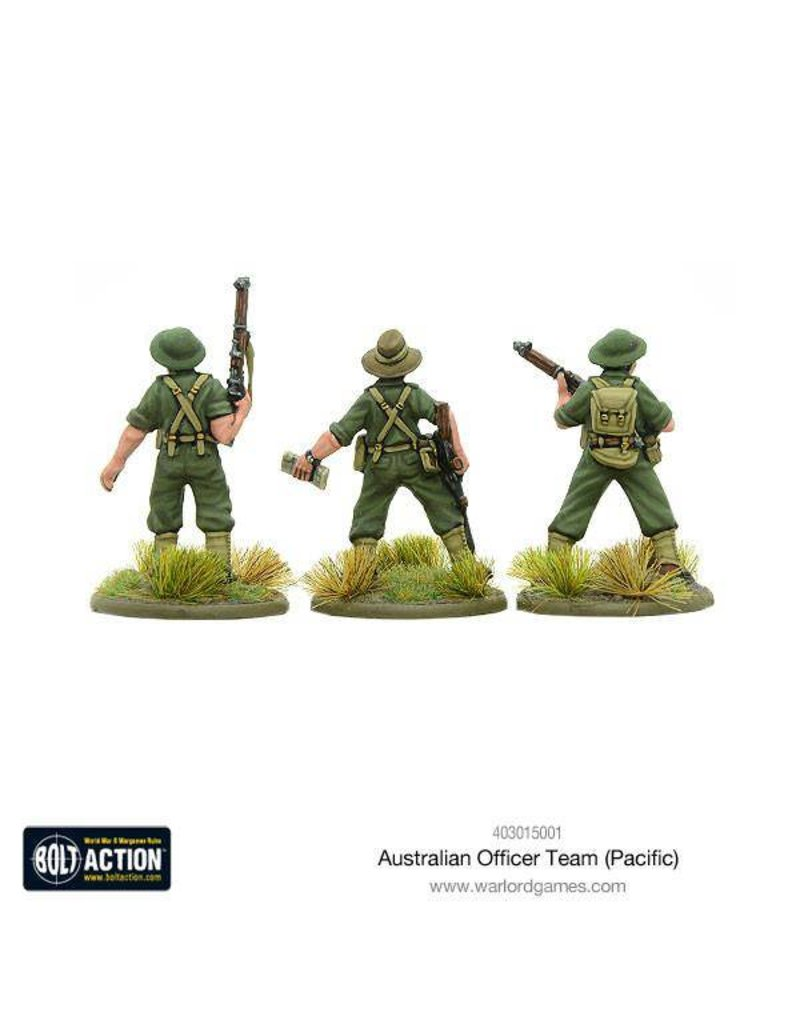 Warlord Games Allied Australian Officer Team