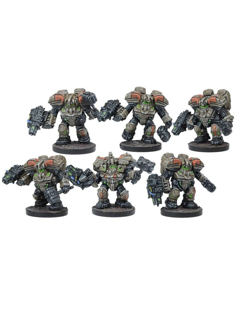 Mantic Games Warpath / Deadzone: Forge Father Hammerfist Drop Team
