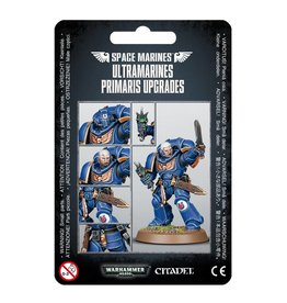 Games Workshop S/M ULTRAMARINES PRIMARIS UPGRADES