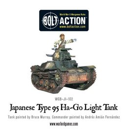 Warlord Games Japanese Type 95 Ha-Go light tank (Splash Release)