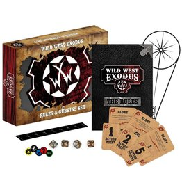 Warcradle Studios Wild West Exodus Rules & Gubbins Set