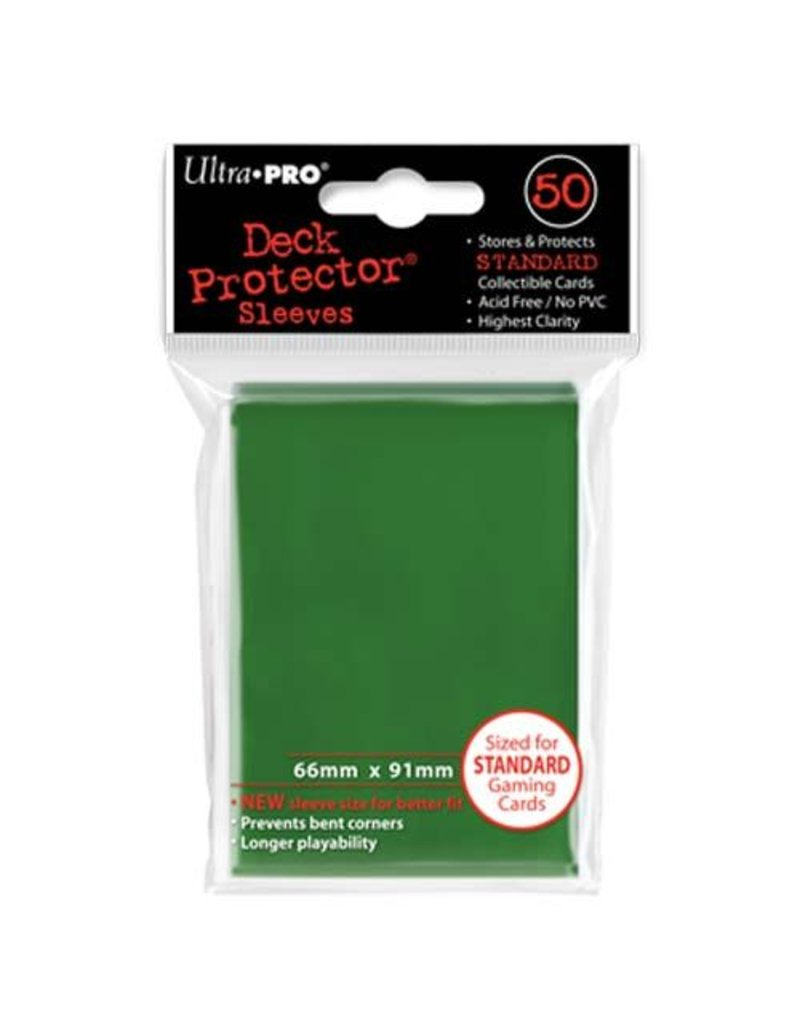 Ultra Pro Deck Protector Sleeves – Green Standard